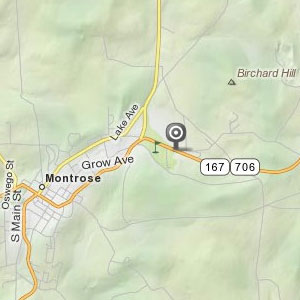 Map of Montrose store